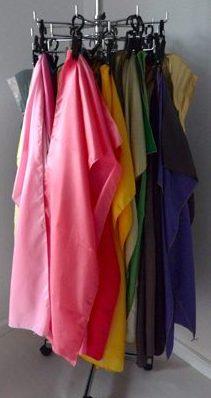 kleurendoeken voor kleurenanalyse bij een kleuradvies kleding