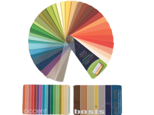 kleurenpas kleurenwaaier