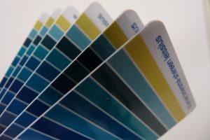 kleurenpas inbegrepen bij een workshop kleurenanalyse