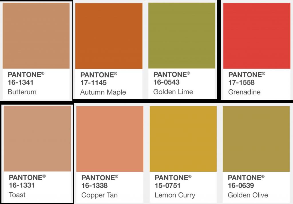 Modekleuren najaar 2017 bij Ontdek je kleur en stijl  Pantone Kleuren 2017